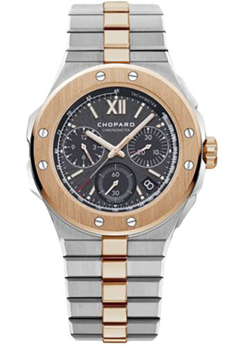 Chopard Watches - Alpine Eagle 44mm - Chrono - Rose Gold - Style No: 298609-6001