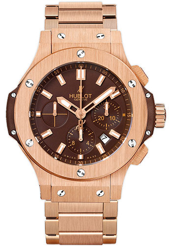 Hublot Watches - Big Bang 44mm Red Gold Chocolate - Style No: 301.PC.3180.PC