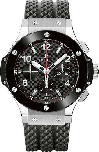 Hublot Watches - Big Bang 44mm Stainless Steel And Ceramic - Style No: 301.SB.131.RX
