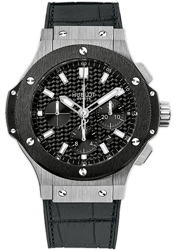 Hublot Watches - Big Bang 44mm Stainless Steel And Ceramic - Style No: 301.SM.1770.GR