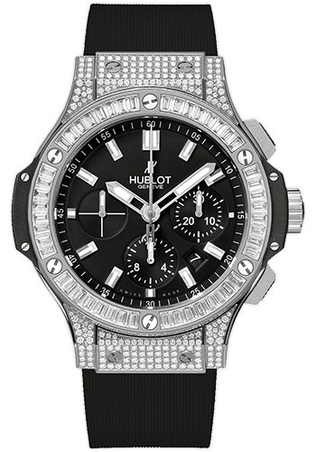 Hublot Watches - Big Bang 44mm Stainless Steel Diamonds - Style No: 301.SX.1170.RX.0904