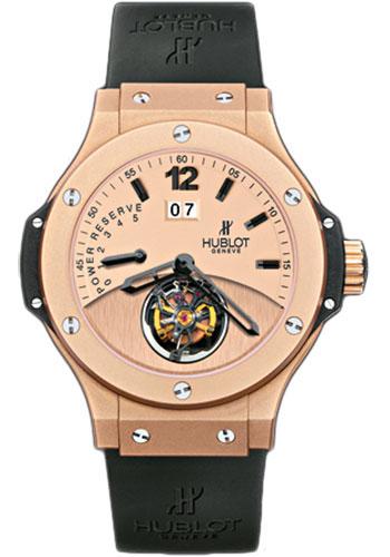 Hublot Watches - Tourbillon Big Date - Red Gold - Style No: 302.PI.500.RX