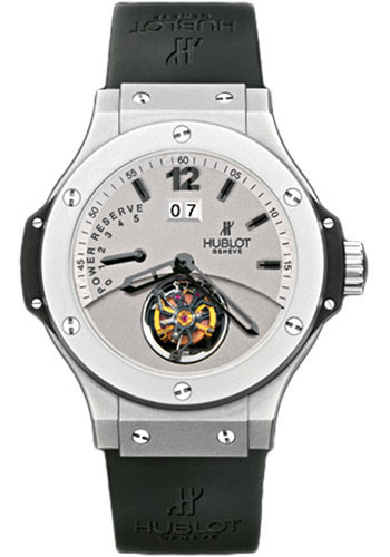Hublot Watches - Tourbillon Big Date - Platinum - Style No: 302.TI.450.RX