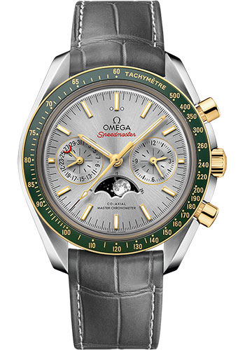 Omega Watches - Speedmaster Moonphase Chronograph 44.25 mm - Stainless Steel and Yellow Gold - Style No: 304.23.44.52.06.001