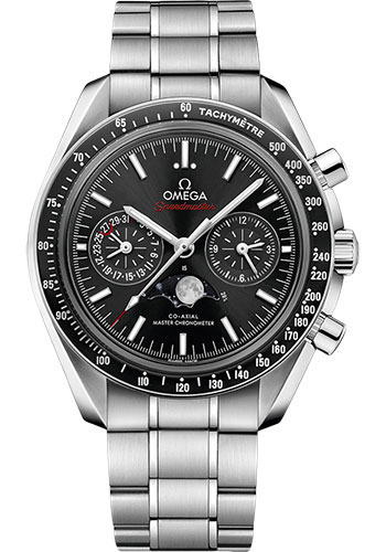 Omega Watches - Speedmaster Moonphase Chronograph 44.25 mm - Stainless Steel - Style No: 304.30.44.52.01.001