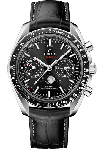 Omega Watches - Speedmaster Moonphase Chronograph 42.25 mm - Stainless Steel - Style No: 304.33.44.52.01.001