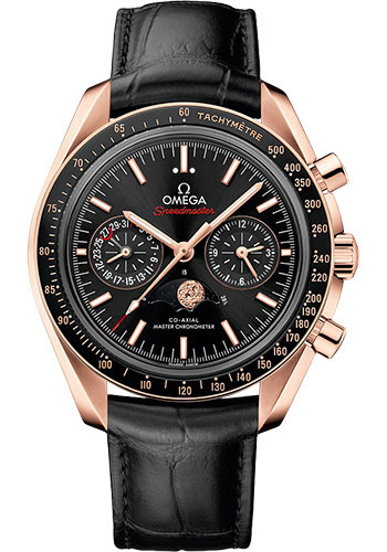Omega Watches - Speedmaster Moonphase Chronograph 44.25 mm - Sedna Gold - Style No: 304.63.44.52.01.001