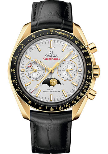 Omega Watches - Speedmaster Moonphase Chronograph 44.25 mm - Yellow Gold - Style No: 304.63.44.52.02.001