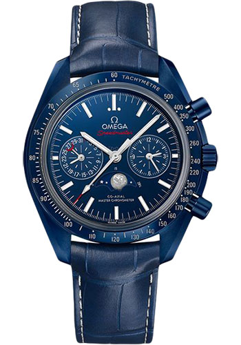 Omega Watches - Speedmaster Moonphase Chronograph 44.25 mm - Blue Ceramic - Style No: 304.93.44.52.03.001