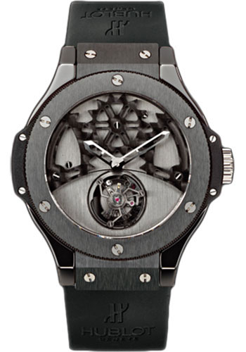 Hublot Watches - Tourbillon Solo Bang - Ceramic - Style No: 305.CM.002.RX