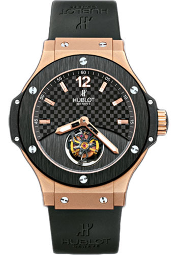 Hublot Watches - Tourbillon Solo Bang - Red Gold - Style No: 305.PM.131.RX