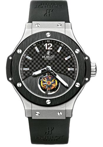 Hublot Tourbillon Solo Bang Platinum Watches From