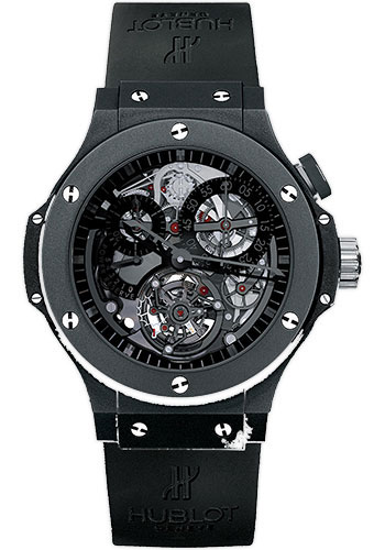 Hublot Watches - Bigger Bang Tourbillon 44mm Ceramic - Style No: 308.CI.134.RX