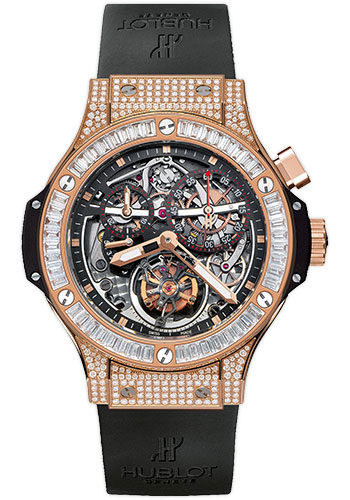 Hublot Watches - Bigger Bang Tourbillon 44mm Red Gold - Style No: 308.PX.130.RX.094