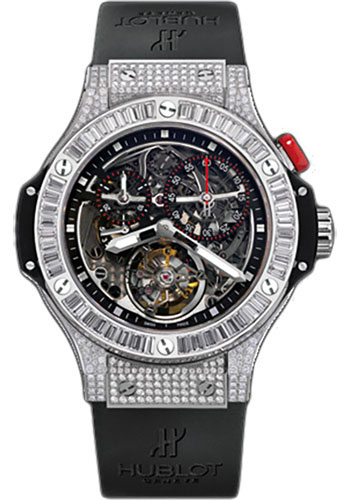 Hublot Watches - Bigger Bang Tourbillon 44mm Platinum - Style No: 308.TX.130.RX.094