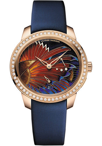 Ulysse Nardin Watches - Jade Rose Gold - Style No: 3106-125B/LIONFISH