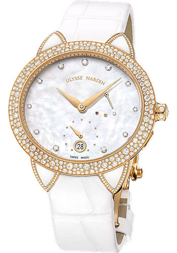 Ulysse Nardin Watches - Jade Rose Gold - Style No: 3106-125BC/991