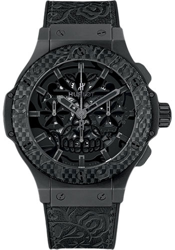 Hublot Watches - Big Bang 44mm Aero Bang - Carbon Sugar Skull - Style No: 311.CQ.1110.VR.FDK15