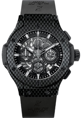 Hublot Watches - Big Bang 44mm Aero Bang - Carbon - Style No: 311.QX.1124.RX