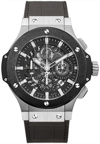 Hublot Watches - Big Bang 44mm Aero Bang - Stainless Steel And Ceramic - Style No: 311.SM.1170.GR