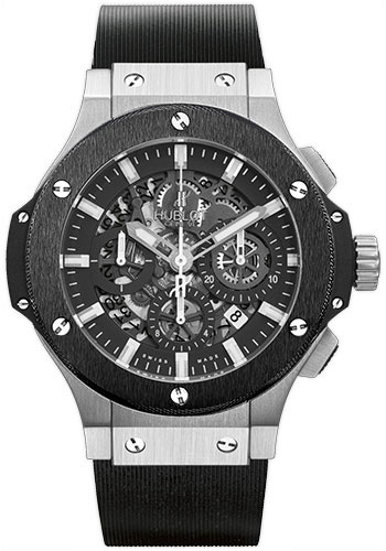 Hublot Watches - Big Bang 44mm Aero Bang Stainless Steel And Ceramic - Style No: 311.SM.1170.RX