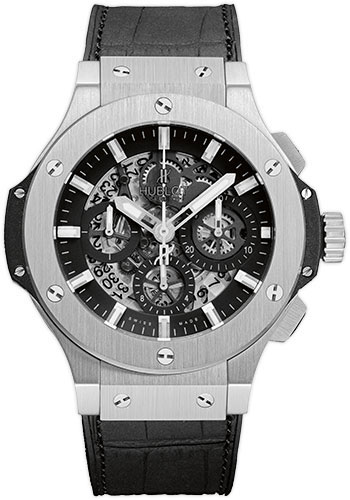 Hublot Watches - Big Bang 44mm Aero Bang - Stainless Steel - Style No: 311.SX.1170.GR