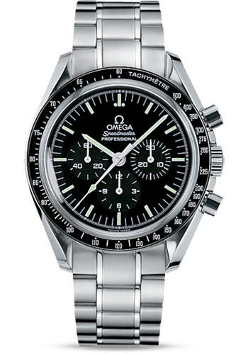 Omega Watches - Speedmaster Moonwatch Professional 42 mm - Stainless Steel - Transparent Back - Style No: 311.30.42.30.01.006