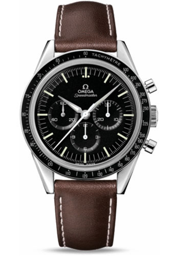Omega Watches - Speedmaster Moonwatch Professional First Omega In Space - Style No: 311.32.40.30.01.001