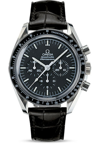 Omega Watches - Speedmaster Moonwatch Professional 42 mm - Stainless Steel - Transparent Back - Style No: 311.33.42.30.01.002