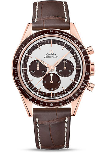 Omega Watches - Speedmaster Moonwatch Professional 39.7 mm - Sedna Gold - Style No: 311.63.40.30.02.001