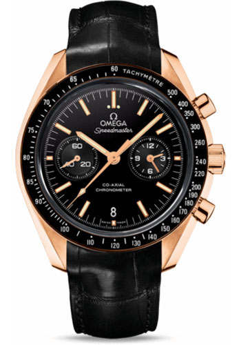 Omega Watches - Speedmaster Moonwatch Co-Axial Chronograph 44.25 mm - Orange Gold - Style No: 311.63.44.51.01.001