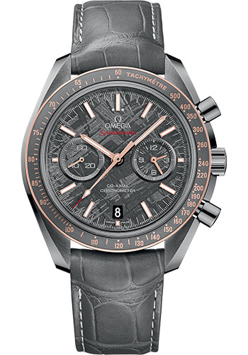 Omega Watches - Speedmaster Moonwatch Co-Axial Chronograph 44.25 mm - Grey Ceramic - Style No: 311.63.44.51.99.001