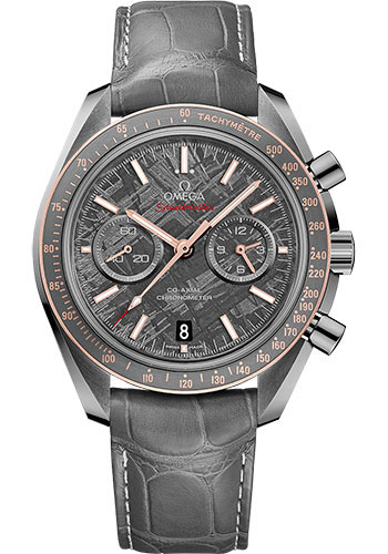 Omega Watches - Speedmaster Moonwatch Co-Axial Chronograph 44.25 mm - Grey Ceramic - Style No: 311.63.44.51.99.002