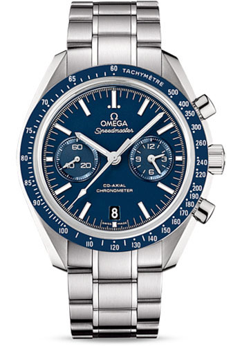 Omega Watches - Speedmaster Moonwatch Co-Axial Chronograph 44.25 mm - Stainless Steel - Caliber 9300 - Style No: 311.90.44.51.03.001