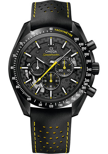 Omega Watches - Speedmaster Moonphase Chronograph 44.25 mm - Black Ceramic - Style No: 311.92.44.30.01.001