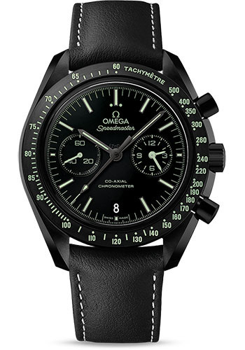 Omega Watches - Speedmaster Moonwatch Co-Axial Chronograph 44.25 mm - Black Ceramic - Style No: 311.92.44.51.01.004