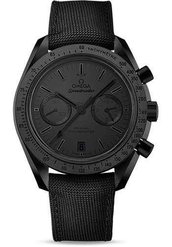 Omega Watches - Speedmaster Moonwatch Co-Axial Chronograph 44.25 mm - Black Ceramic - Style No: 311.92.44.51.01.005