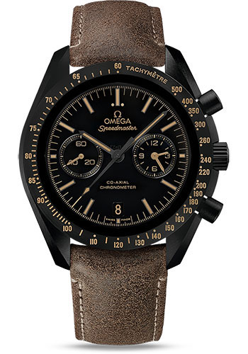 Omega Watches - Speedmaster Moonwatch Co-Axial Chronograph 44.25 mm - Black Ceramic - Style No: 311.92.44.51.01.006