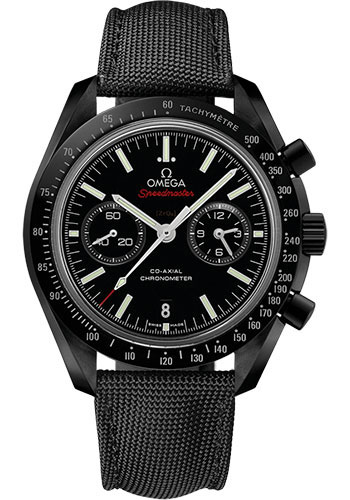 Omega Watches - Speedmaster Moonwatch Co-Axial Chronograph 44.25 mm - Black Ceramic - Style No: 311.92.44.51.01.007
