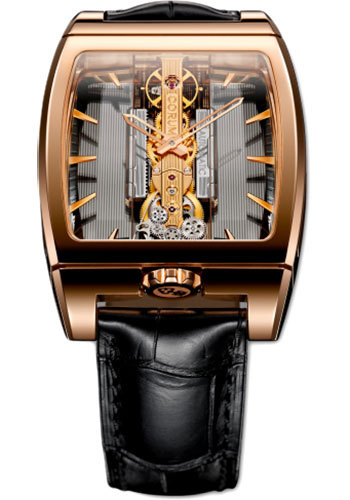 Corum Watches - Golden Bridge Automatic 34 x 51 mm - Red Gold - Style No: B313/01612 - 313.165.55/0002 GL10R