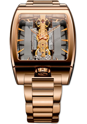 Corum Watches - Golden Bridge Automatic Red Gold - Style No: 313.165.55/V100 GL10R