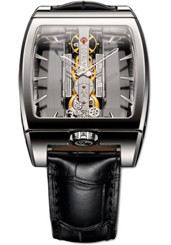 Corum Watches - Golden Bridge Automatic 37.20 x 51.80 mm - White Gold - Style No: B313/01614 - 313.165.59/0001 GL10G