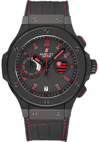 Hublot Watches - Big Bang 44mm Aero Bang - Flamengo Bang - Style No: 318.CI.1123.GR.FLM11