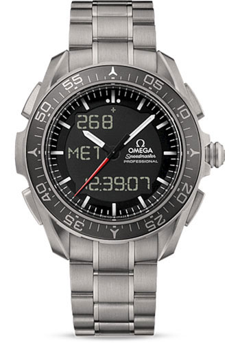 Omega Watches - Speedmaster Skywalker X-33 Chronograph 45 mm - Titanium - Style No: 318.90.45.79.01.001