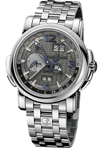 Ulysse Nardin Watches - GMT Perpetual 42 mm - White Gold - Bracelet - Style No: 320-60-8/69