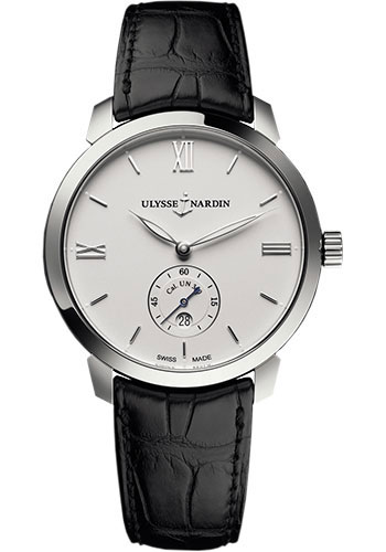 Ulysse Nardin Watches - Classico Automatic - Stainless Steel - Leather Strap - Style No: 3203-136-2/30