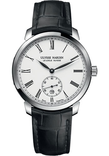 Ulysse Nardin Watches - Classico Manufacture - Style No: 3203-136-2/E0-42