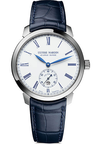 Ulysse Nardin Watches - Classico Automatic - Stainless Steel - Leather Strap - Style No: 3203-136LE-2/E0
