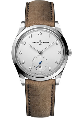 Ulysse Nardin Watches - Classico Automatic - Stainless Steel - Leather Strap - Style No: 3203-900