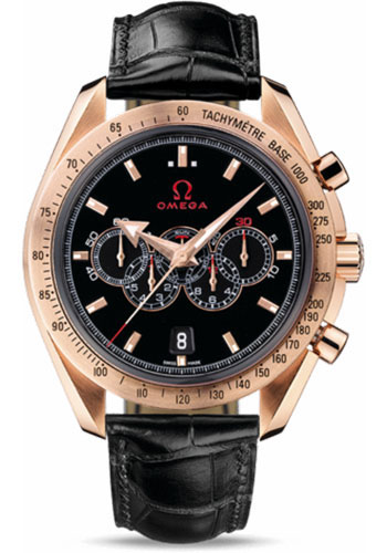 Omega Watches - Speedmaster Olympic Collection Timeless 44.25 mm Red Gold - Style No: 321.53.44.52.01.001